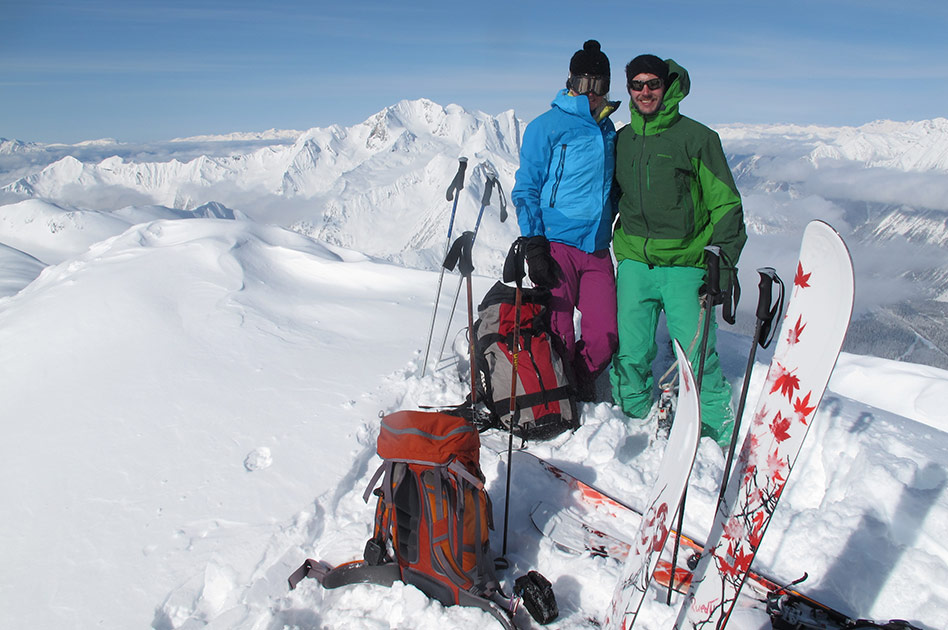 Skiing with Selkirk Mountain Experience