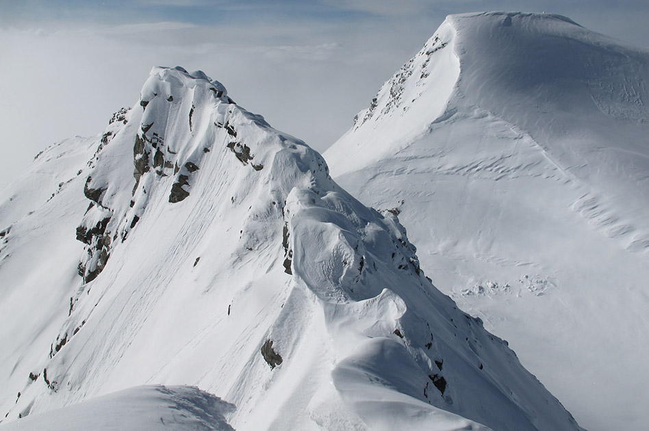 Ski Terrain of the Durrand Glacier