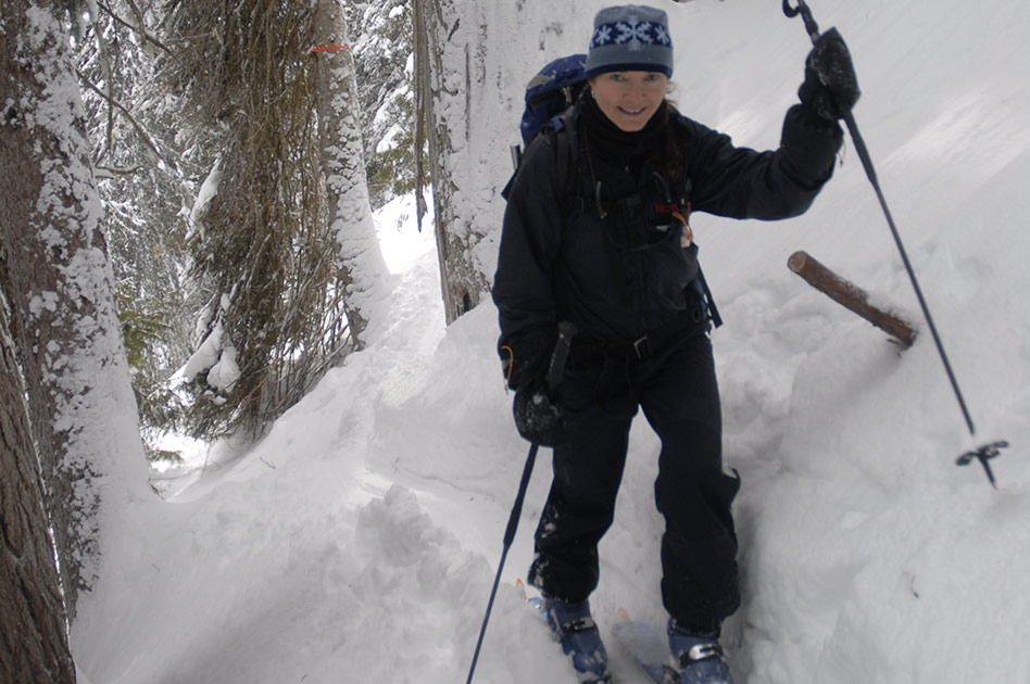 Tree Skiing with Selkirk Mountain Experience